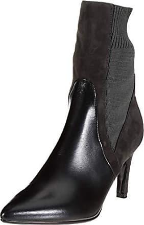 378be2aa Peter Kaiser UDA, Botas Plisadas para Mujer, Negro (Schwarz Glove Carbon  Suede Calza