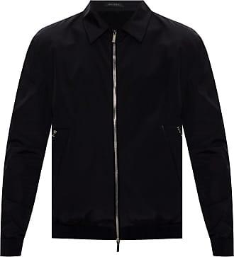Giorgio Armani Logo-embroidered Jacket Mens Multicolor