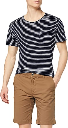 Selected Homme Mens SLHSTRAIGHT-Paris Shorts W NOOS, Brown (Camel Camel), XXL