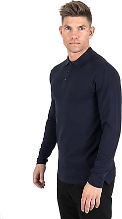 Perform Collection Performance L/S Polo Shirt - Navy