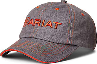 Ariat Team II Cap One Size Heather Grey Red Clay
