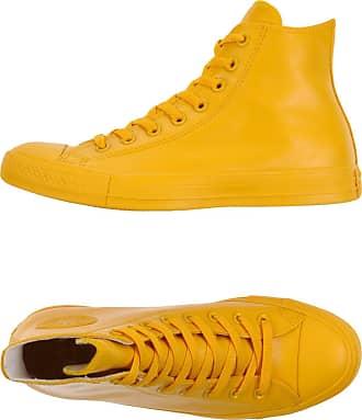 converse femme montante jaune