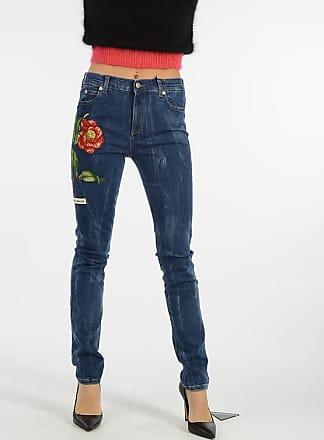 7cb9e7a82290 Gucci 14cm Denim Embroidery Jeans size 25