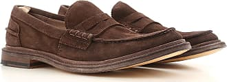 Officine Creative Loafers for Men On Sale, Dark Brown, Suede leather, 2017, 10 10.25 11 7.75 8