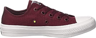 Converse Mens Ct Ii Ox Sneakers, Red (Deep Bordeaux/White/Navy), 5 UK