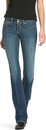 Ariat Womens R.E.A.L Low Rise Shea Boot Cut Jeans in Bella Cotton, Size 28 X-Long, by Ariat