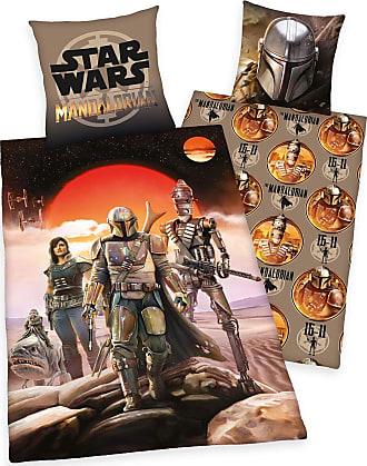 Star Wars The Mandalorian - Unisex-Sängkläder - flerfärgad
