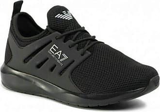 Emporio Armani EA7 X8 X052 XCC57 3D Mesh TPU Mens Shoes Fabric Black Black Size: 6 UK
