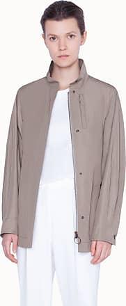 Akris Long parka jacket