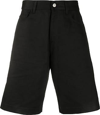 Raf Simons Bermuda jeans modelagem larga - Preto
