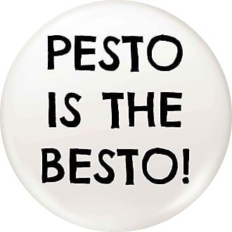 Flox Creative 45mm Pin Badge Pesto is the Besto