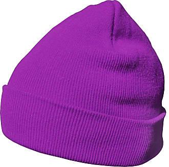 DonDon winter hat beanie warm classical design modern and soft purple
