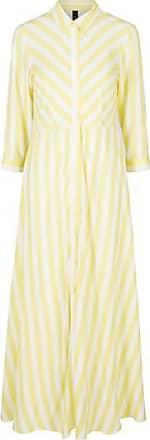 Y.A.S Savannenkleid gelbe Creme - M/10