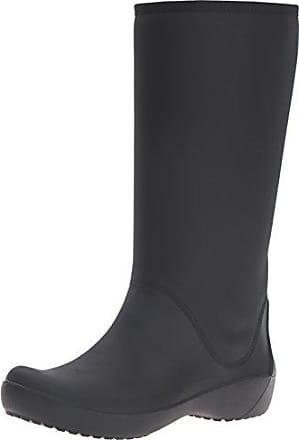 0426f73b56 Crocs Rainfloetallbt, Stivali di Gomma Donna, Nero (Black), 34-35
