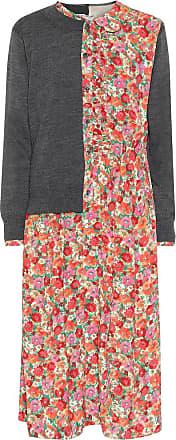 Junya Watanabe Layered cardigan and floral dress