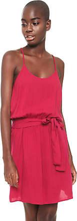 Colcci Vestido Colcci Curto Blusê Rosa