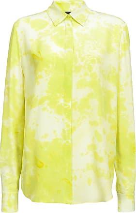 Pinko marble print shirt - Yellow