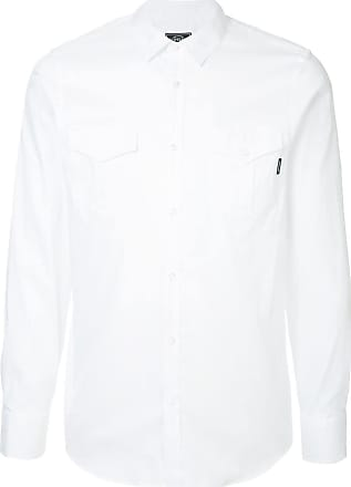 Loveless Camisa com bolsos - Branco