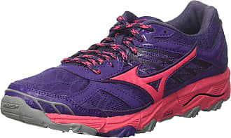 Mizuno Womens Wave Mujin 4 WOS Running Shoes, Purple (Mulberrypurple/Azalea/Graystone 62), 7 UK