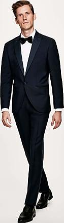 Hackett Mens Peak Lapel Tuxedo | Size 46Regular | Black