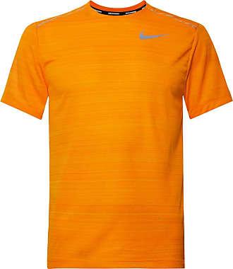 Nike Miler Breathe Dri-fit Mesh T-shirt - Bright orange