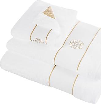 Roberto Cavalli Gold Towel - White - Hand Towel