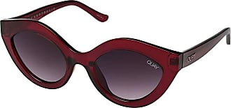 Quay Eyeware Goodnight Kiss (Red/Purple Fade) Fashion Sunglasses