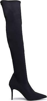 Giuseppe Zanotti Giuseppe Zanotti Woman Neoprene Thigh Boots Black Size 36