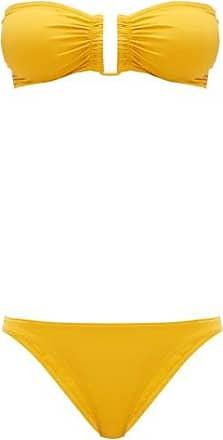 Eres Show & Fripon Bandeau Bikini - Womens - Yellow