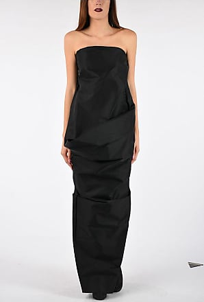 Rick Owens Cotton Blend ELIPSE STRAPLESS Dress size 38