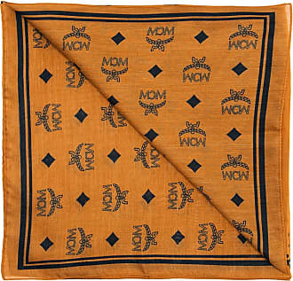 MCM Shawl With Logo Womens Brown