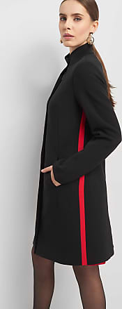 Orsay mantel mit pelzkragen