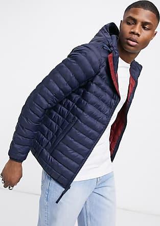 Timberland axis peak hooded jacket-Blue