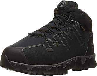 Timberland PRO Mens Powertrain Sport Internal Met Guard Alloy Toe Industrial & Construction Shoe, Black Synthetic, 10.5 W US