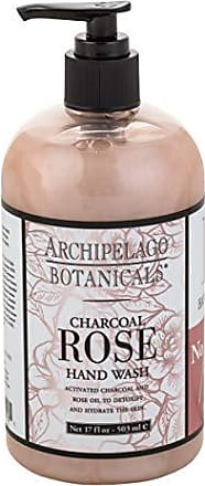 Archipelago Botanicals Archipelago Charcoal Rose Hand Wash, 17 Fl Oz
