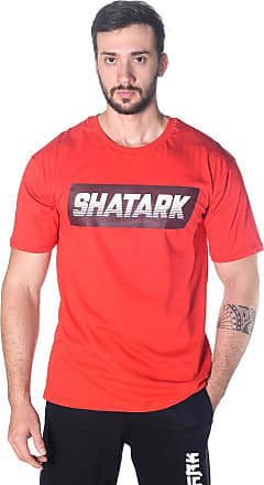 Shatark Camiseta Large Fast - Vermelho (GG)