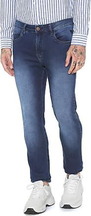 a73cb6b8a8 Cavalera Calça Jeans Cavalera Slim Five Pockets Azul