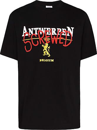 VETEMENTS Camiseta Screwed - Preto