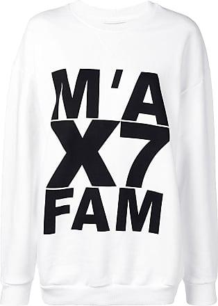 7 For All Mankind logo print sweatshirt - Branco