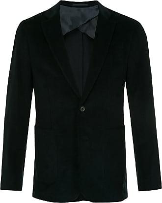 Cerruti corduroy single-breasted blazer - Black