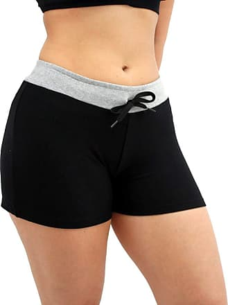 PartiuCompras Short Molecotton Estiloso Feminino Stretch