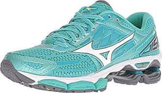 size 40 69924 3e0db Mizuno Womens Wave Creation 19 Running Shoe, Turquoise Peacock Blue, 6