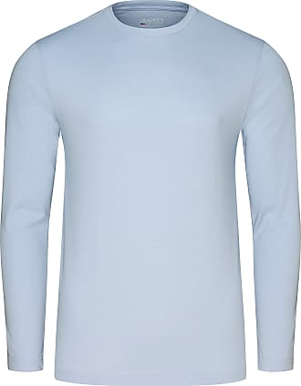 Jockey American Long Sleeve Shirt, XL, Shirt. Blue