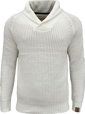 Soulstar Mens Tugger Turtle Neck Knitted Jumper New Designer Cable Knit Sweater
