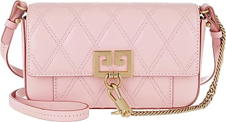 Givenchy Cross Body Bags - Mini Pocket Bag Diamond Quilted Leather Pink - rose - Cross Body Bags for ladies