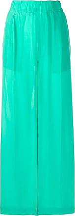 JEJIA Calça pantalona cintura alta - Verde