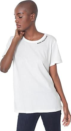 aa20d68ec Colcci Camiseta Colcci Lettering Off-White