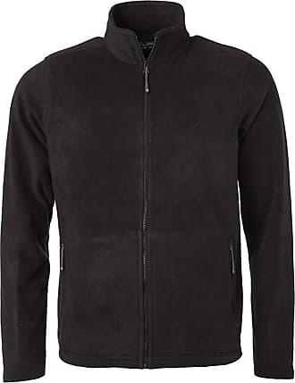 James & Nicholson JN782 Mens Fleece Jacket Black XL