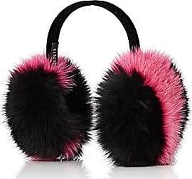 Barneys New York Womens Fox-Fur Earmuffs - Pink