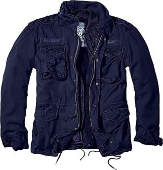 Brandit M65 Giant Mens Parka Jacket - Blue - XXX-Large